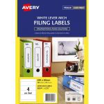 Avery Label L7171 Lever Arch Fsc Mix Credit 25 Sheets | 61-238033