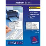 Avery Business Cards L7414-20 20 Sheets Inkjet Laser | 61-238036