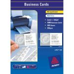 Avery Business Cards L7415-100 Fsc Mix Credit 100 Sheets Inkjet Laser | 61-238037