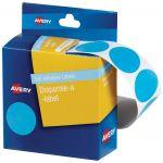 Avery Label Dispenser Dmc24lb Light Blue Round 24mm 500 Pack | 61-238263