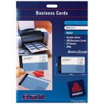 Avery Business Cards C32015-25 25 Sheets Inkjet | 61-238476