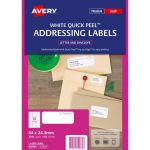 Avery Label L7157-100 64x24.3mm Fsc Mix Credit 100 Sheets | 61-238677