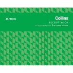 Collins Cash Receipt 45/50dl Duplicate No Carbon Required | 61-437317