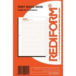 Rediform Book Feint Ruled R/sfeint2 Duplicate 50 Leaf | 61-437339