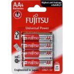 Fujitsu Batteries Aa Universal 4 Pack 1.5v Power | 61-781021