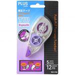 Plus Tw Correction Tape Purple 5mm X 12m Wh705 | 61-PWH705P