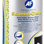 Af Screen-clene Wipes Tub Of 100 Wet Wipes | 77-ASCR100T