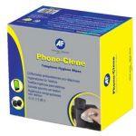 Af Phone-clene Anti-bacterial Phone Wipes Box | 77-APHC100