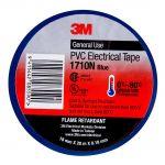 3m Electrical Tape 1710n-bu Pvc 18mm X 20m Blue | 68-10101