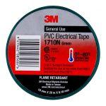 3m Electrical Tape 1710n-gr Pvc 18mm X 20m Green | 68-10102