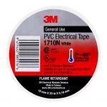3m Electrical Tape 1710n-wh Pvc 18mm X 20m White | 68-10104