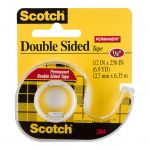 Scotch Double Sided Tape Dispenser 136 12.7mm X 6.35m | 68-10153