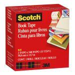 Scotch Tape Book Repair 845  50mm X 13.7m Transparent   68-10162