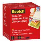 Scotch Tape Book Repair 845   76mm X 13.7m Transparent   68-10163