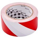 3m Vinyl Tape 767 50mm X 33m Red/white   68-10168