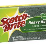 Scotch-brite Heavy Duty Kitchen Scrub Sponge   68-10204