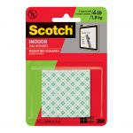 Scotch Mounting Squares 111/dc Indoor Permanent 25mm Pk/16 | 68-10685