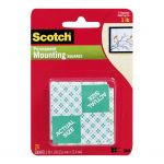 Scotch Indoor Mounting Squares 111 25x25mm Pkt/24 | 68-10693