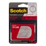 Scotch Fastener Extreme Rf6730 Clear 25x76mm Pkt/2 | 68-10695