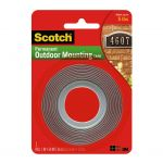 Scotch Outdoor Mounting Tape 411p 22mmx1.5m   68-10710