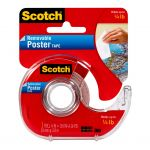 Scotch Poster Tape Removable 109 19mmx3.8m On Dispenser   68-10715