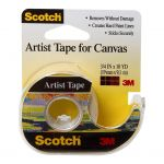 Scotch Artist Tape Fa2010 19mm X 9.1m On Dispenser   68-10841