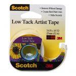 Scotch Artist Tape Fa2020 Low Tack 19mm X 9.1m On Dispenser   68-10842