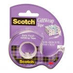 Scotch Gift Wrap Tape 15 19mm X 16.5m On Dispenser | 68-10857