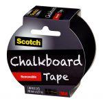 Scotch Chalkboard Tape 48mm X 4.6m   68-10875