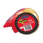 Scotch Sealing Tape 313 48mm X 50m Super Clear Hangsell With Dispenser | 68-10929