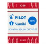 Pilot Fountain Pen Ink Cartridge Blue 6pk (ic-50-l) | 68-20415