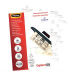 Fellowes Laminating Pouches A4 Gloss 125 Micron Pack 25   68-F5396301