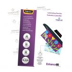 Fellowes Laminating Pouches A3 Gloss 80 Micron Pack 25 | 68-F5396403