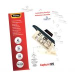 Fellowes Laminating Pouches A3 Gloss 125 Micron Pack 25   68-F5396501