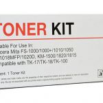 Icon Compatible Kyocera Compatible Tk-18/tk-17 Black Toner Cartridge | 68-IKTK18