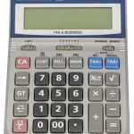 Canon Hs-1200ts Solar & Battery 12 Digit Calculator With Tax | 77-HS1200TS