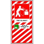 Fire Blanket Blazon / Sign | 75-7827