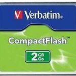 Verbatim Compact Flash Card 1gb | 77-47010