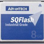 Advantech Sqflash Slc Compact Flash 256mb | 77-SQF-P10S1-256M-P8C