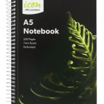 Icon Spiral Notebook A5 Soft Cover 200 Pg (3 Pack) | 68-ISNBSC003