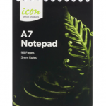 Icon Spiral Notepad A7 Soft cover 96 pg (12 Pack) | 68-ISNPSC004