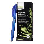 Icon Ballpoint Retractable Pen Triangular Medium Blue (10 Pack) | 68-IBPTRIBLUE