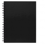 Icon Spiral Notebook A5 Hard Cover Black 200 pg (3 Pack) | 68-ISNBHC001