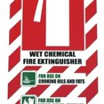 Wet Chemical Fire Extinguisher Blazon / Sign   75-7824