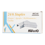 KW-triO Staples 24/6 Box of 1000 | 68-KW00246