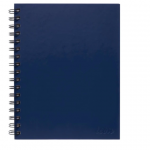 Icon Spiral Notebook A5 Hard Cover Blue 200 pg (3 Pack) | 68-ISNBHC003