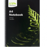Icon Spiral Notebook A4 Soft cover 240 pg (3 Pack) | 68-ISNBSC002